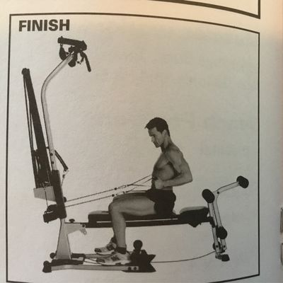 Bowflex - Seated Lat Rows