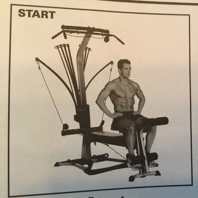 How to do: Bowflex -  Seated Leg Extension - Step 1
