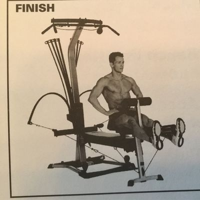 Bowflex -  Seated Leg Extension