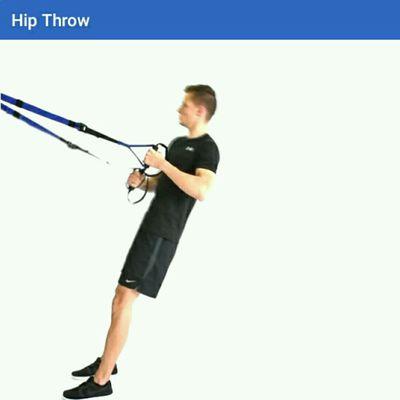 Hip Throw TRX