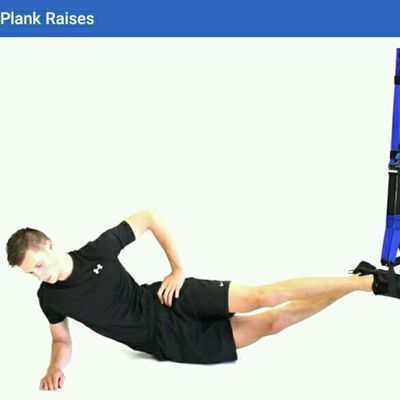 Side Plank Raises TRX
