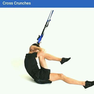 Cross Crunches