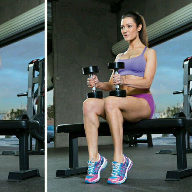 How to do: Seated Calf Raise - Step 1