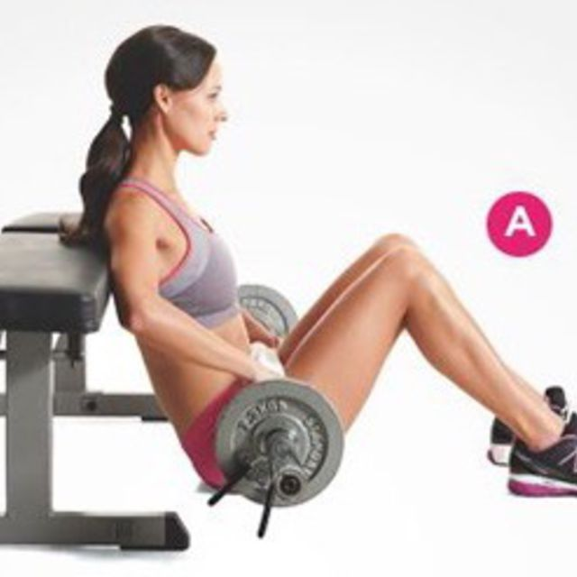 How to do: Barbell Hip Thrust - Step 1