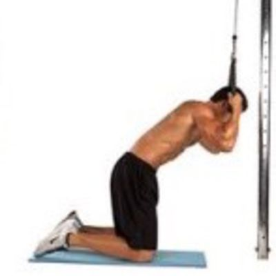 Cable Ab Crunch