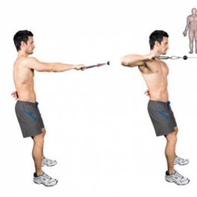 One Arm Cable Row L