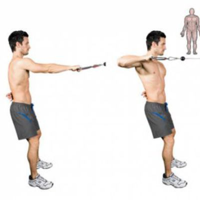 One Arm Cable Row R