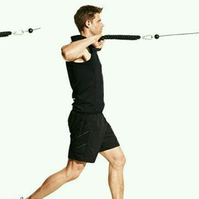 Cable Row To Neck