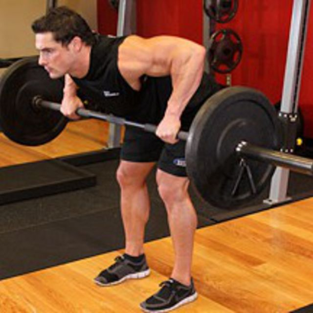 How to do: Barbell Rear Delt Row - Step 2