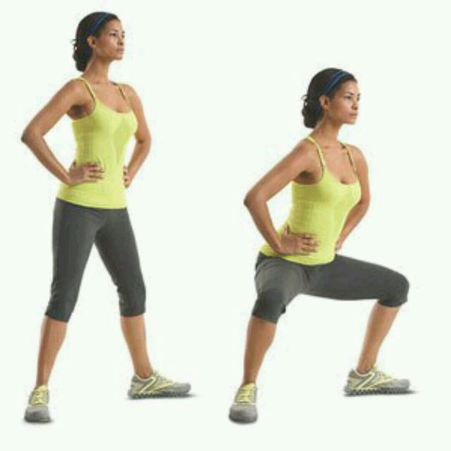 How to do: Horse Stance Squats - Step 1
