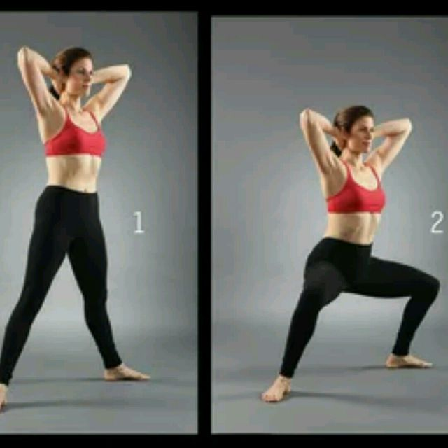 How to do: Horse Stance Squats - Step 3