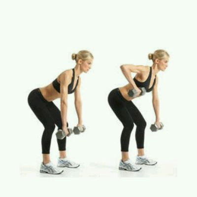 Dumbbell Row Alternating