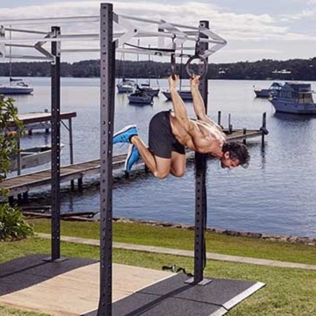 How to do: Back Lever Alternate Leg Single Push - Step 5