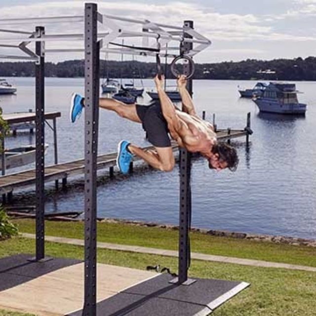 How to do: Back Lever Alternate Leg Single Push - Step 7