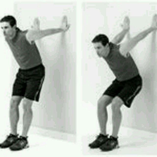 How to do: Biceps Stretch - Step 1