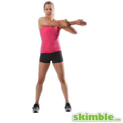 Right Arm Cross Stretch