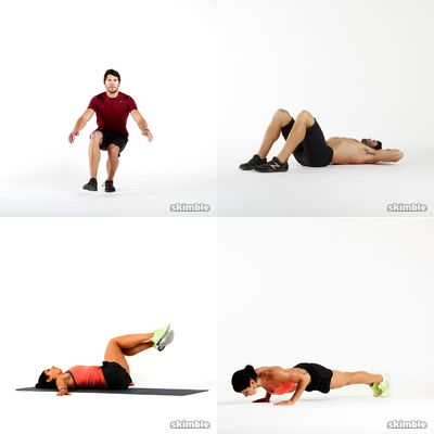 Workout athletic