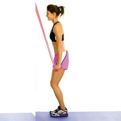 Resistance Band Or Cable Lat Pull Down