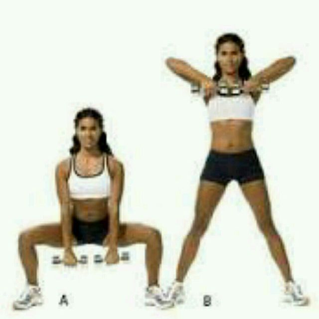 How to do: Squat Upright Row - Step 1