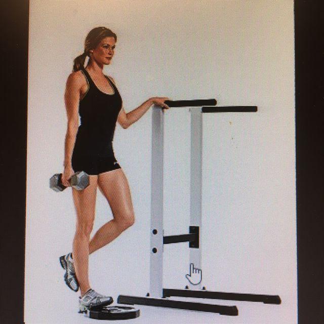 How to do: DB Single Leg Calf Raise - Step 1