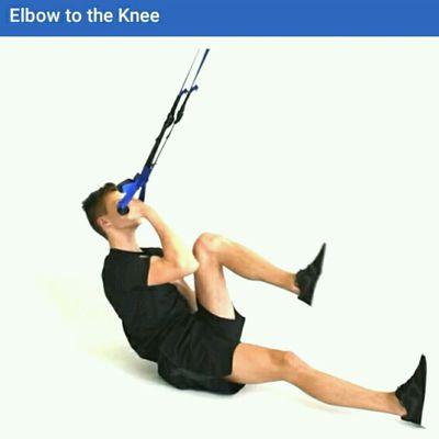 Elbow To Knee TRX