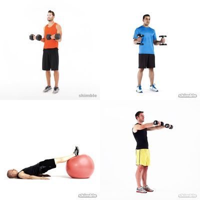 Josh's work out