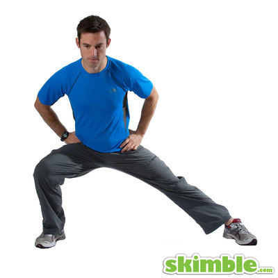 Right Side Lunge