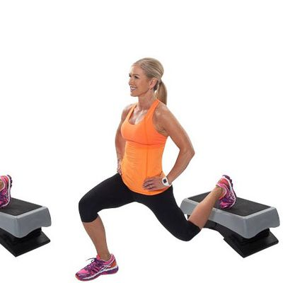 Elevated Leg Lunge