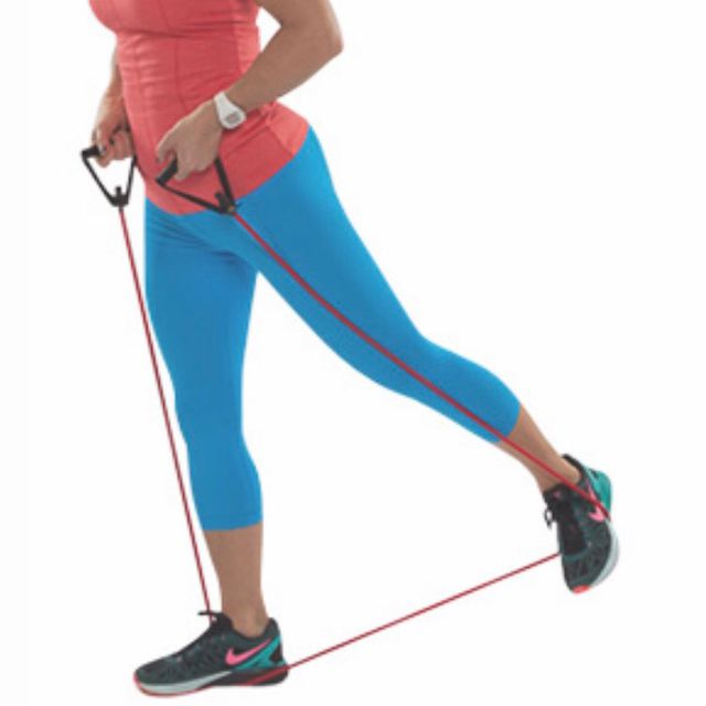 Exercise Bands Hips: Glute Squeeze With Resistance Band