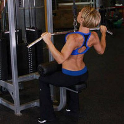 Wide Grip Lateral Pull-Down Complex