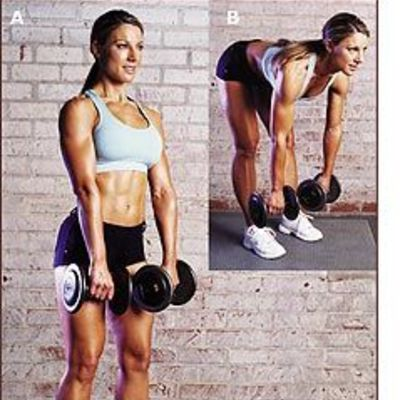 Dumbbell Stiff Leg Deadlift