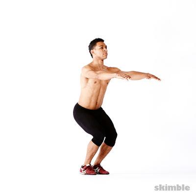 腿部健身操