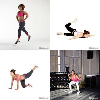Leg + Butt workouts