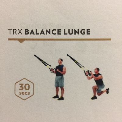 TRX Balance Lunge