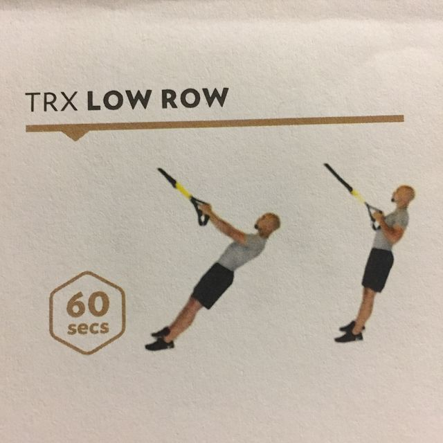 How to do: TRX Low Row - Step 1