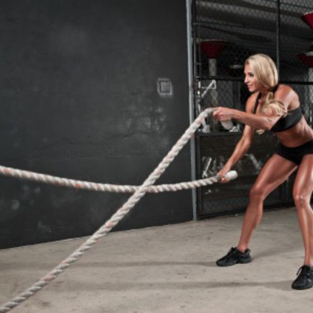 How to do: Power Rope - Step 1