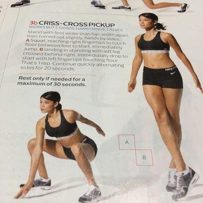 Criss-cross Pickup