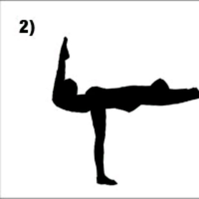 How to do: Arabesque Lift - Step 2
