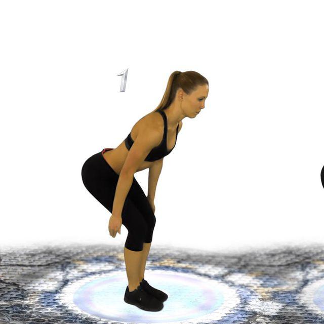 How to do: Bent Over V Raise - Step 1