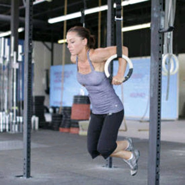 How to do: Ring Dips - Step 1