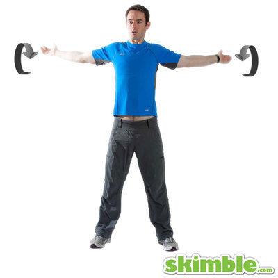 Small Forward Arm Circles