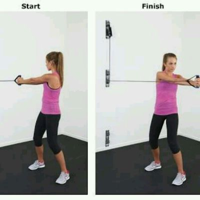 Trunk Rotations Resistance Band
