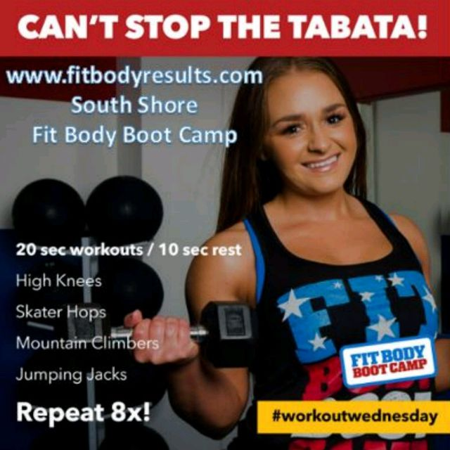 Can't Stop The Tabata