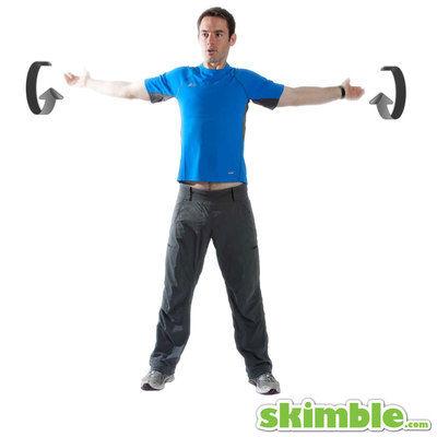 Small Backwards Arm Circles