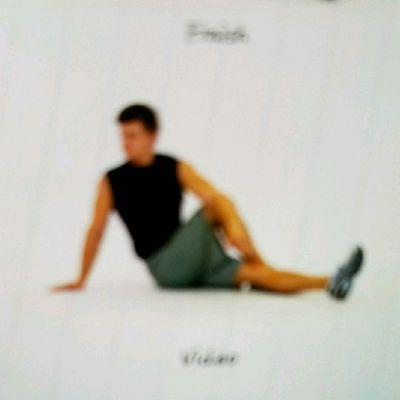 Back Stretch With Cross Leg