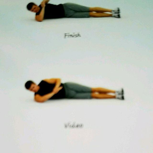 How to do: 90-90 Rear Shoulder Stretch - Step 1