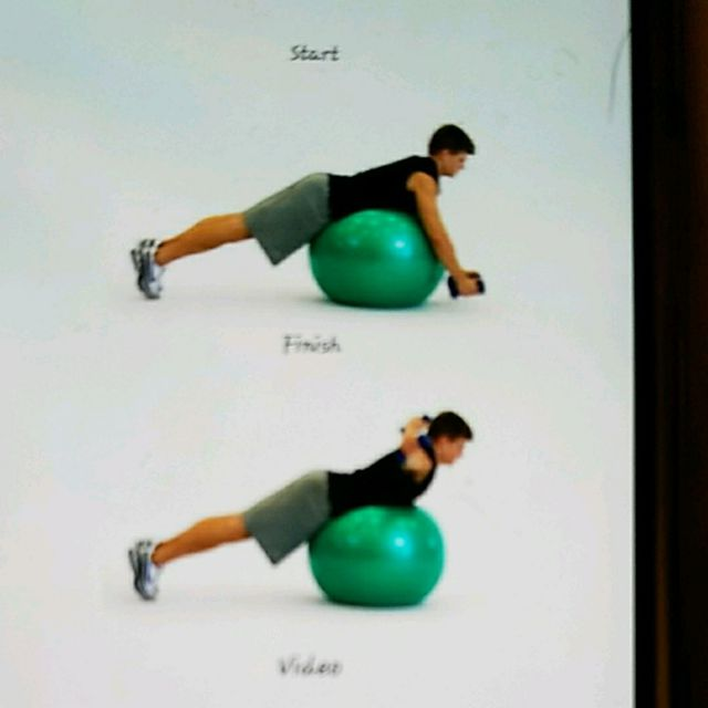 How to do: Ball Lying Fly - Step 1