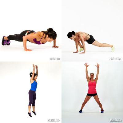 Bodyweight Cardio I :