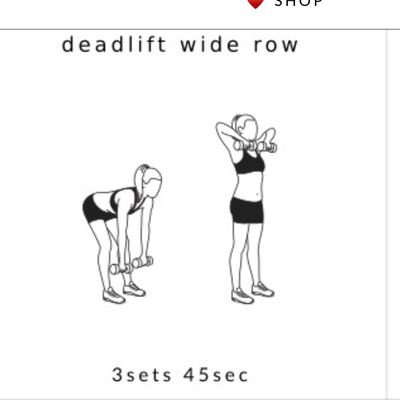 Deadlift Wide Row