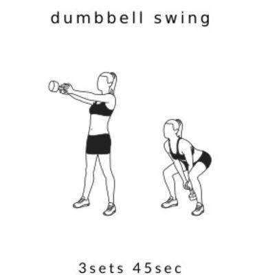Dumbell Swing